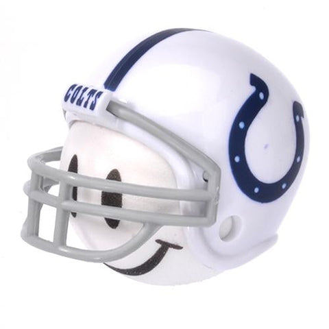 Indianapolis Colts Helmet Head Team Car Antenna Topper / Desktop Bobble Buddy (NFL Football)