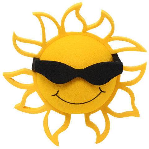 Coolballs California Sunshine w (Black) Sunglasses Car Antenna Topper
