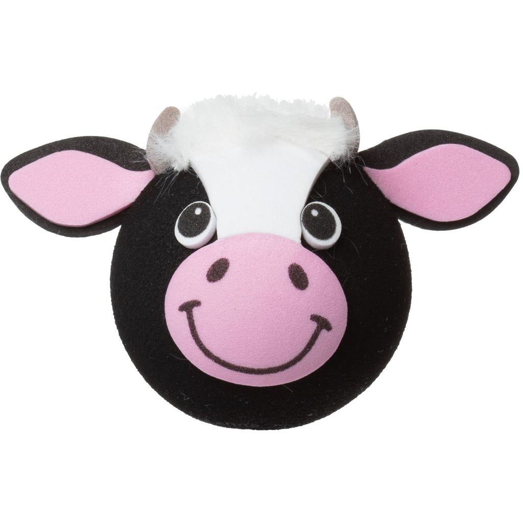 Tenna Tops Bessie the Cow Car Antenna Topper / Desktop Spring Stand Bobble