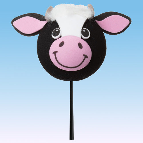 "Tenna Tops ""Milkshake"" the Cow Car Antenna Topper / Auto Mirror Dangler / Desktop Bobble Buddy"