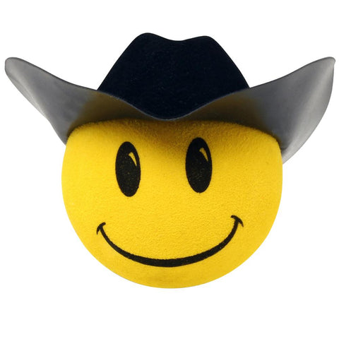 HappyBalls Cowboy Car Antenna Topper / Mirror Dangler / Desktop Spring Stand