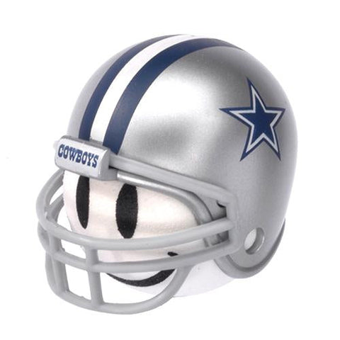 Dallas Cowboys Helmet Head Team Car Antenna Topper / Desktop Bobble Buddy (NFL Football)