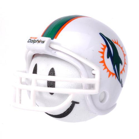 Miami Dolphins Helmet Head Team Car Antenna Topper / Desktop Bobble Buddy (NFL Football)