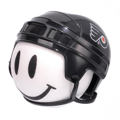 Philadelphia Flyers Helmet Head Car Antenna Topper / Desktop Bobble Buddy (NHL Hockey)