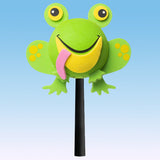 "Tenna Tops ""Hoppy"" the Frog Car Antenna Topper / Auto Mirror Dangler / Desktop Bobble Buddy (Green)"