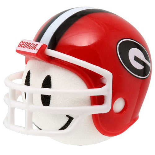 Georgia Bulldogs Car Antenna Topper (White Smiley)