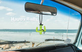Happyballs Cowboy Cactus Car Antenna Topper / Desktop Spring Stand