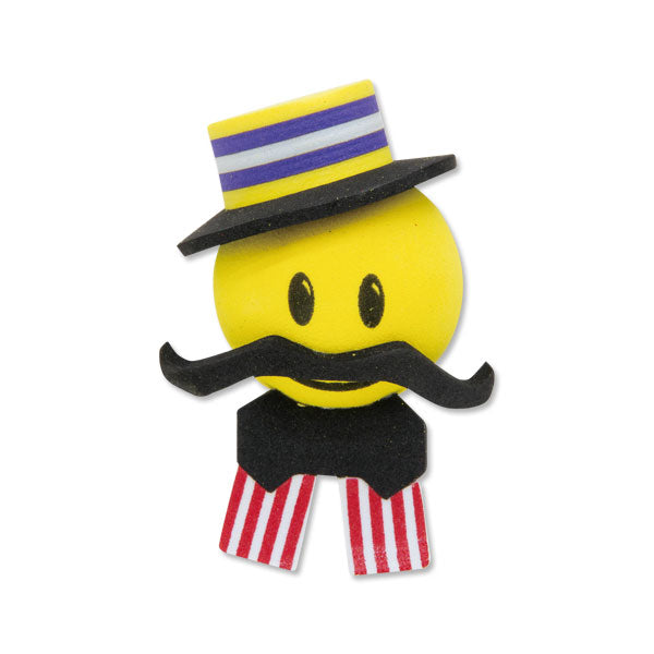 HappyBalls Happy Harmony Barbershop Quartet Singer Car Antenna Topper / Desktop Spring Stand