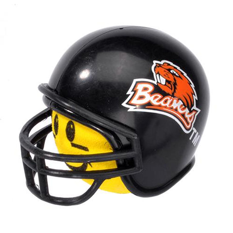 HappyBalls Oregon State Beavers Helmet Head Team Car Antenna Topper / Desktop Spring Stand Bobble Buddy (College Football)(Yellow Face)