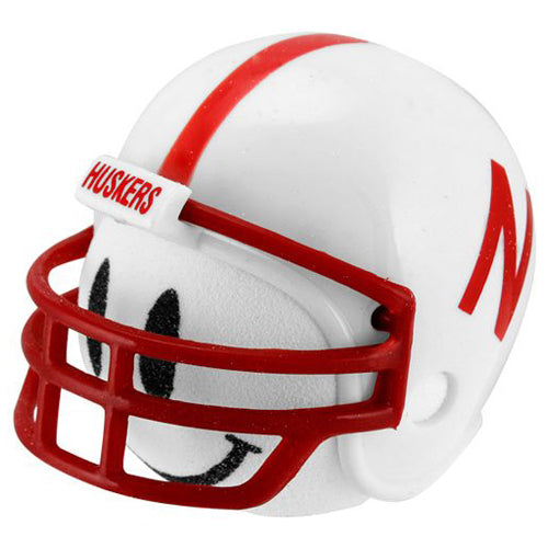 Nebraska Cornhuskers Car Antenna Topper (White Smiley)