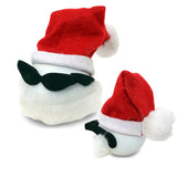 Coolballs Santa Claus w / Sunglasses Car Antenna Topper / Desktop Bobble Buddy