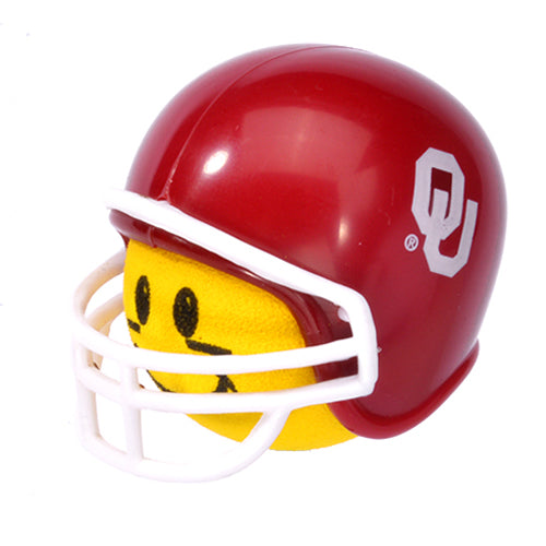 HappyBalls Oklahoma Sooners College Football Car Antenna Topper / Desktop Spring Stand Bobble