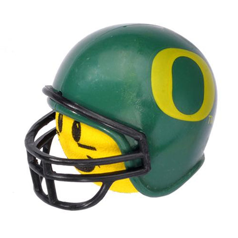Oregon Ducks Helmet Head Team Car Antenna Topper / Desktop Bobble Buddy (College Football)(Yellow Face)