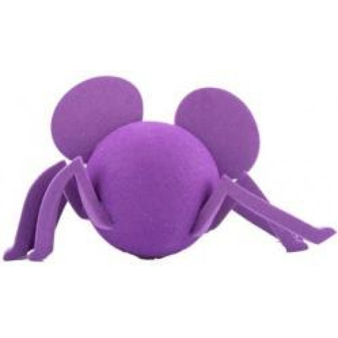 "Mickey ""Purple Spooky Spider"" Car Antenna Topper / Desktop Spring Stand Bobble Buddy"