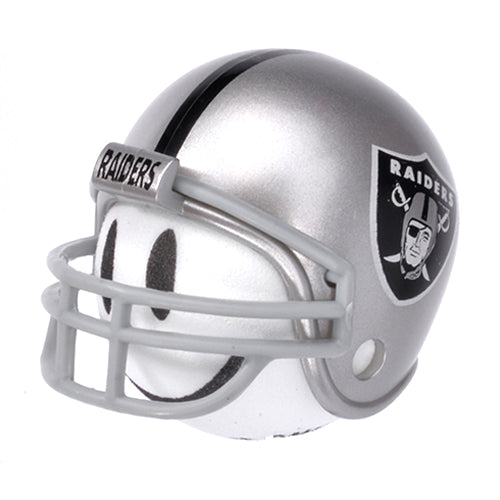 Oakland Raiders Helmet Head Team Car Antenna Topper / Desktop Bobble Buddy (NFL Football)