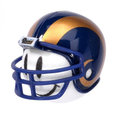 LA Los Angeles Rams Helmet Head Team Car Antenna Topper / Desktop Bobble Buddy (NFL Football)