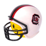 HappyBalls South Carolina Gamecocks Helmet Head Team Car Antenna Topper / Desktop Spring Stand Bobble Buddy (College Football)(Yellow Face)