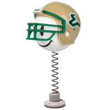 South Florida Bulls Football Car Antenna Topper / Desktop Spring Stand Bobble (White Smiley)