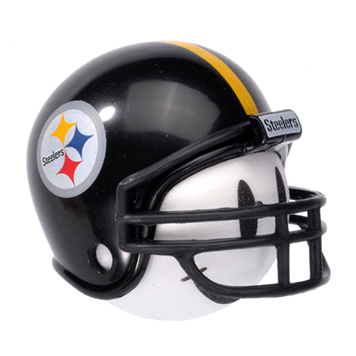 Pittsburgh Steelers Helmet Head Team Car Antenna Topper / Desktop Spring Stand Bobble Buddy (NFL Football)