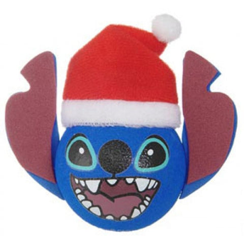 Mickey Stitch Santa Hat Car Antenna Topper / Desktop Bobble Buddy
