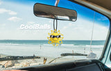 Coolballs California Sunshine w (Black & White) Sunglasses Car Antenna Topper / Desktop Spring Stand Bobble Buddy