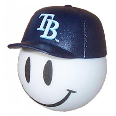 Tampa Bay Rays Cap Head Car Antenna Topper / Desktop Bobble Buddy (MLB Baseball)