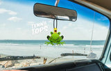Tenna Tops Handsome Prince Frog Car Antenna Topper / Desktop Spring Stand