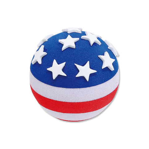 Tenna Tops USA American Patriotic Flag Car Antenna Ball / Desktop Spring Stand Bobble
