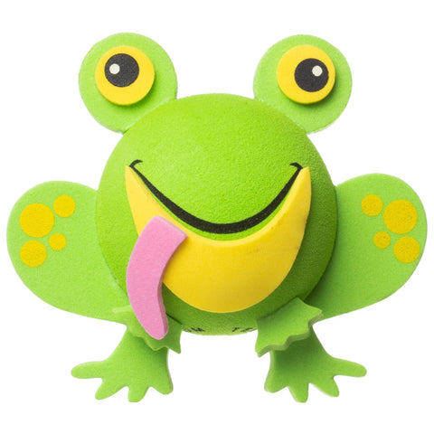 Tenna Tops Cute Green Frog Car Antenna Topper / Desktop Spring Stand Bobble