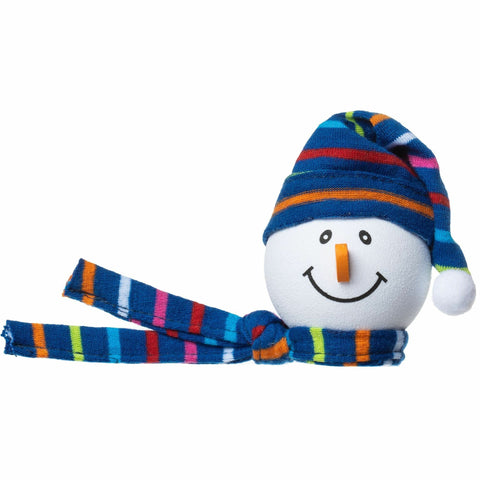 Tenna Tops Winter Snowman Winter Hat Antenna Topper (Blue) / Desktop Bobble Buddy