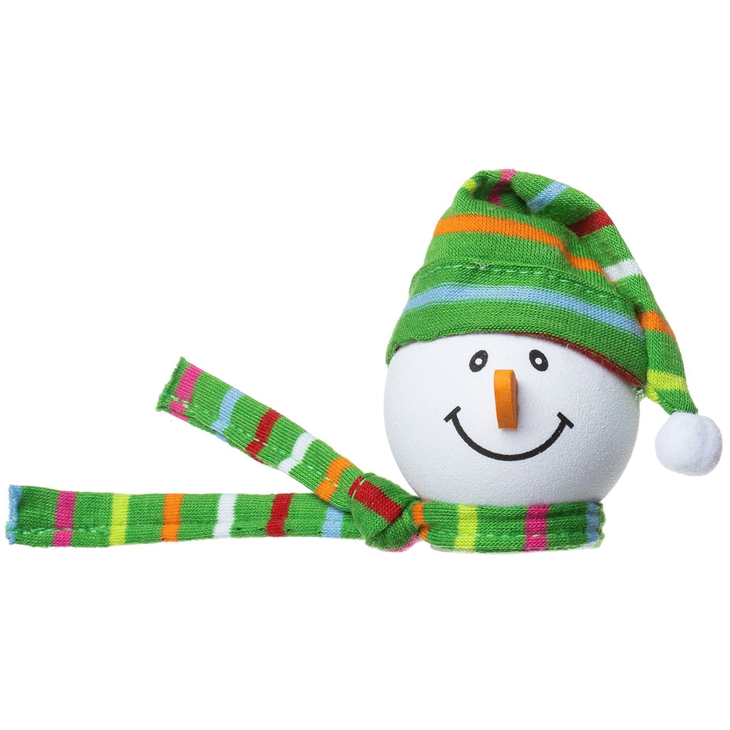 Tenna Tops Winter Snowman Winter Hat Antenna Topper (Green) / Desktop Spring Stand Bobble