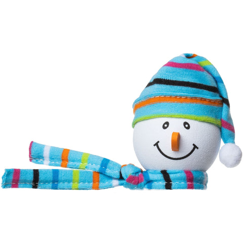 Tenna Tops Winter Snowman Winter Hat Antenna Topper (Light Blue) / Desktop Bobble Buddy