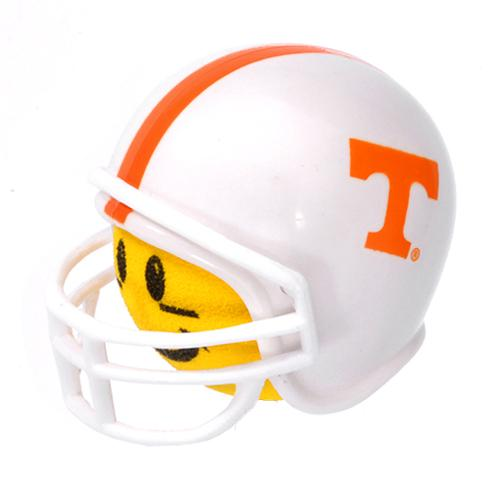 Tennessee Volunteers Helmet Head Team Car Antenna Topper / Desktop Bobble Buddy (College Football)(Yellow Face)