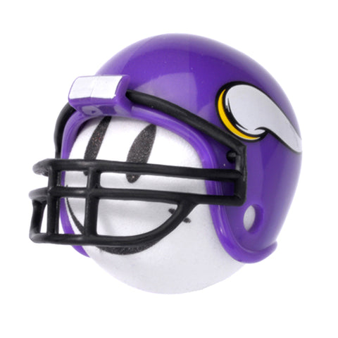 Minnesota Vikings Helmet Head Team Car Antenna Topper / Desktop Spring Stand Bobble Buddy (NFL Football)