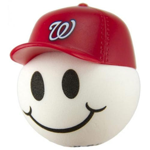 Washington Nationals Cap Head Car Antenna Topper / Desktop Bobble Buddy (MLB Baseball)