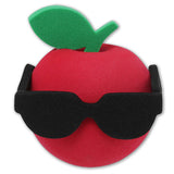 "Coolballs ""The Big Apple"" with Sunglasses Car Antenna Topper / Auto Mirror Dangler / Desktop Bobble Buddy"