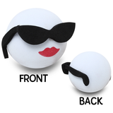 Coolballs Cool Girl Car Antenna Topper