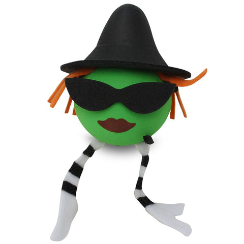 Coolballs Cool Wicked Witch Car Antenna Topper / Desktop Bobble Buddy