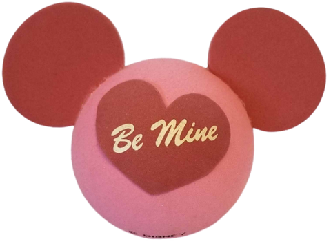 "Mickey Head ""Be Mine"" Car Antenna Topper / Desktop Spring Stand Bobble Buddy"