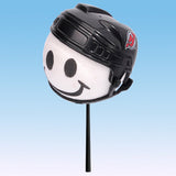 New Jersey Devils Helmet Head Car Antenna Topper / Desktop Bobble Buddy (NHL Hockey)
