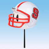NC State Wolfpack Helmet Head Team Car Antenna Topper / Desktop Bobble Buddy (College Football)