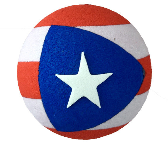 Coolballs Puerto Rico Flag Car Antenna Topper