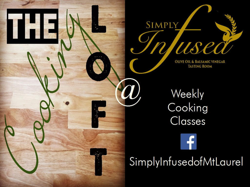 Simply Infused offers weekly cooking classes