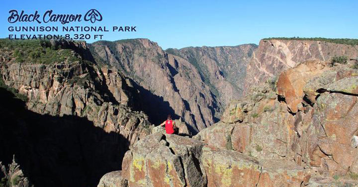 ColoradoCool Apparel at the Black Canyon of the Gunnison National Park