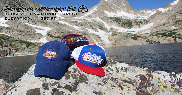 Blue Lake via Mitchell Lake Trail - Roosevelt National Forest - ColoradoCool Apparel