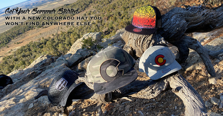 Get Your Summer Started With a New Colorado Hat You Won't Find Anywhere Else