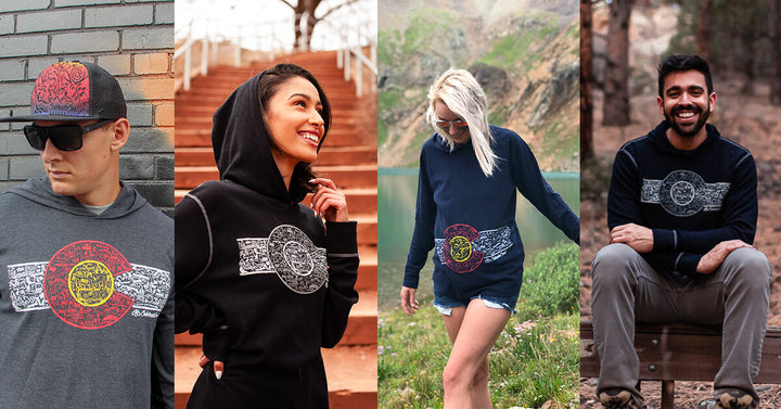 Why our Colorado Flag Hoodies are your new must-have wardrobe addition for fall (or winter, spring, or summer)