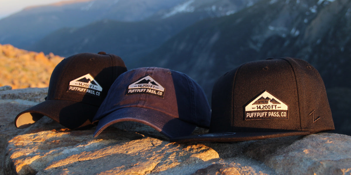 PuffPuffPass Hats - ColoradoCool Apparel - Colorado Gear - Colorado Hats