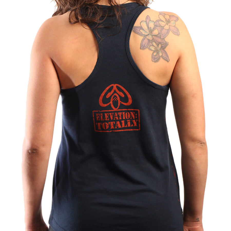 Colorado Rock Climbing Womens Tank Top