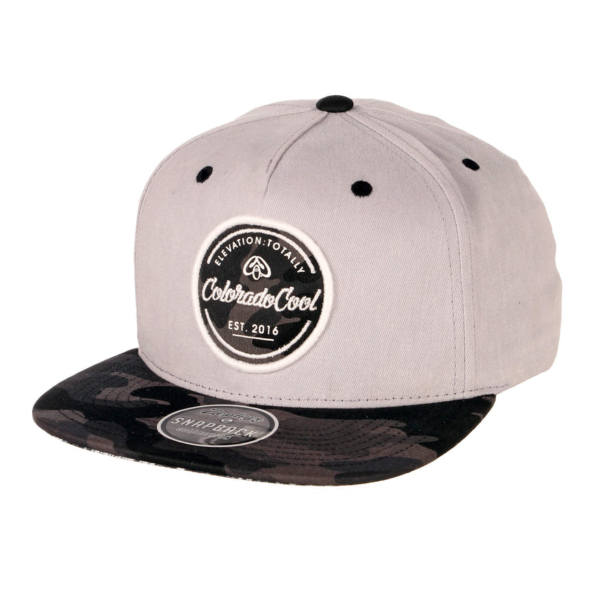 Colorado Hat with Black Camo